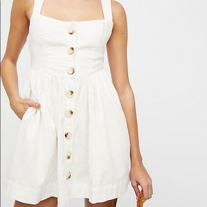 Free People Carolina Mini Dress NWT Size 6